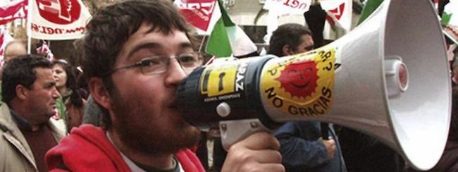 El militante de IU detenido, Rafael González García de Vinuesa | EFE