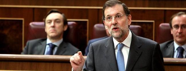 Rajoy, en una sesión en el Congreso   Archivo
