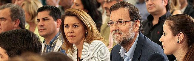 Sánchez Camacho, Rajoy, Cospedal y Floriano | Tarek PP