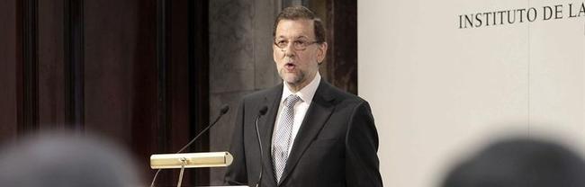 Rajoy, en el Instituto de la Empresa Familiar.