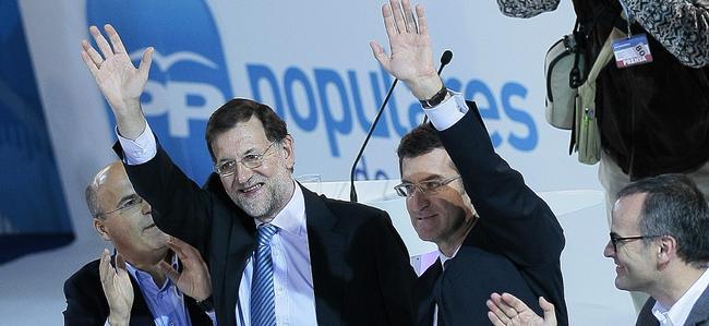 Rajoy y Rajoy en el cierre de campaña | Tarek / PP