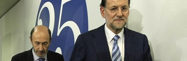 El presidente del Gobierno y el líder del PSOE en una imagen de archivo