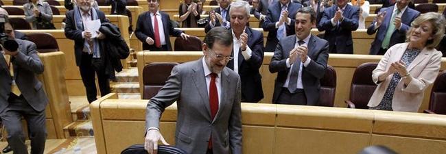 Rajoy, este martes en el Senado | EFE