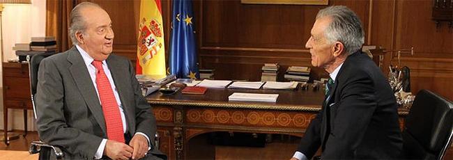 Una imagen de la entrevista | Casa Real