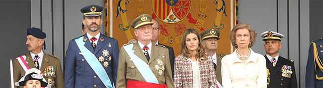 Los príncipes y los reyes, el 12 de octubre | casareal.es