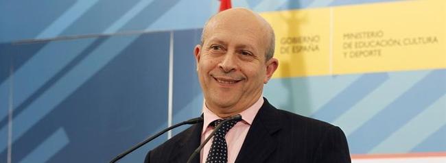 Wert, en la rueda de prensa en el Ministerio | EFE