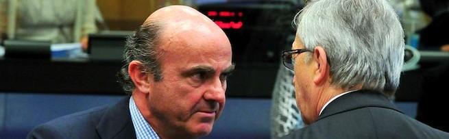De Guindos conversa con el presidente del Eurogrupo | EFE