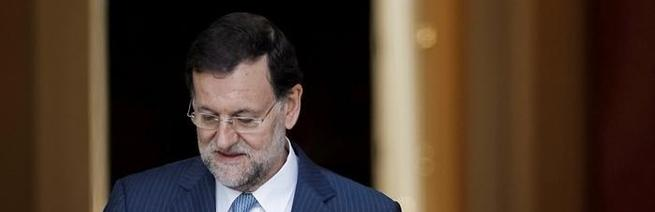 Rajoy, este martes, en Moncloa | EFE
