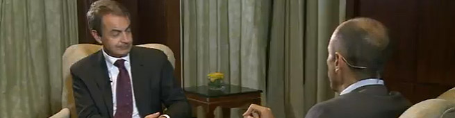 Un momento de la entrevista   Al Jazeera