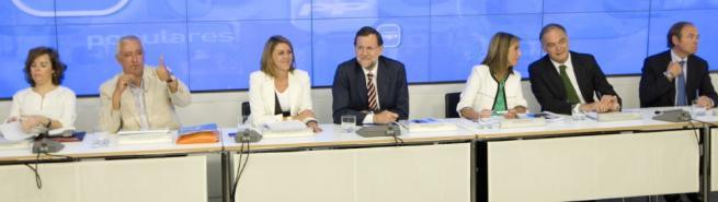 Comité Ejecutivo Nacional del PP. | Tarek