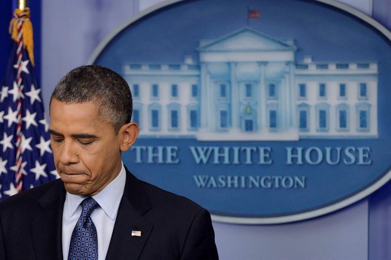 Obama, en una comparecencia en la Casa Blanca. | EFE