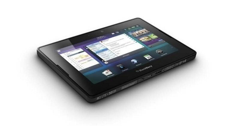 Nueva tableta Playbook 4G LTE. | RIM