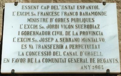 Apología del franquismo FrancescFranco