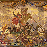 Sancho VII de Navarra en las Navas de Tolosa