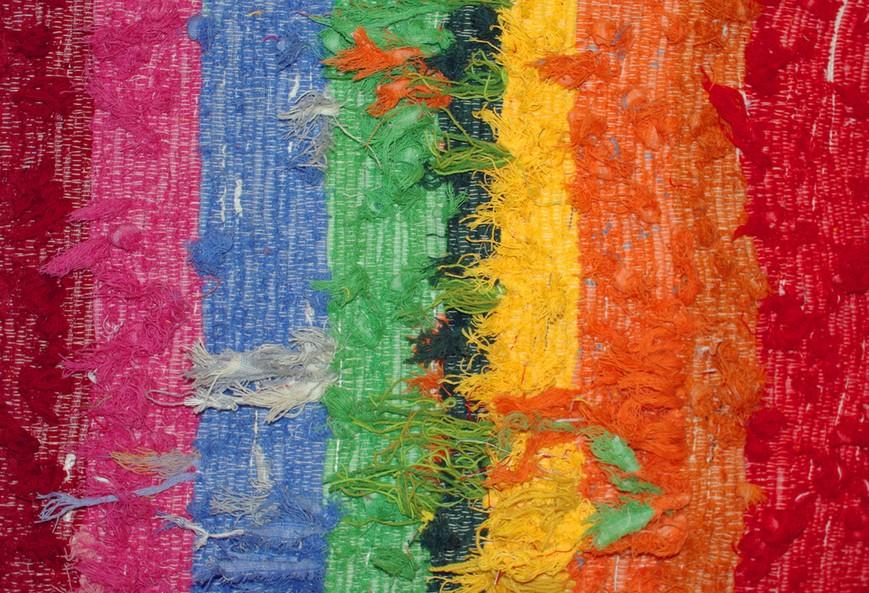 Nuevas Tendencias En Alfombras Para Decorar El Hogar Chic - Alfombras-colores