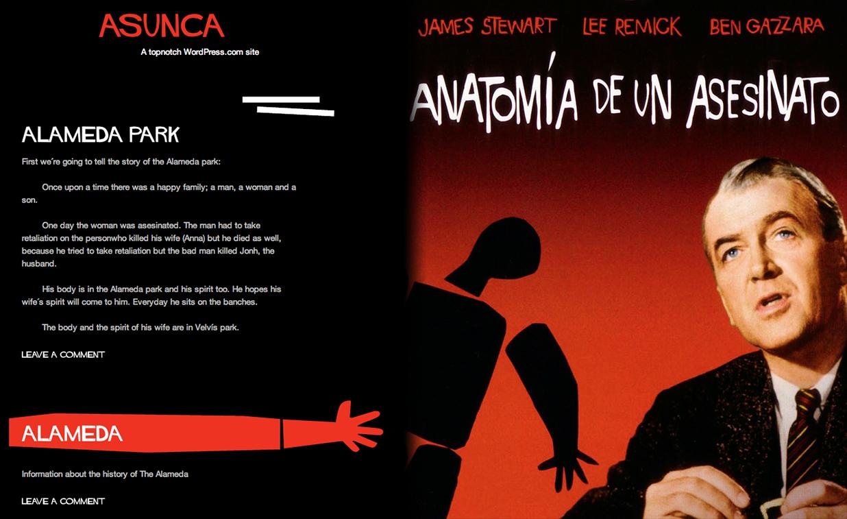 Asunta tenía un blog con una historia de muertes y venganzas ...
