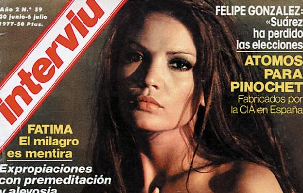 María José Cantudo Y El Primer Desnudo Del Cine Español Chic