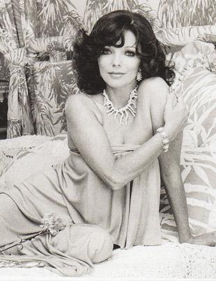Joan Collins, pasión por la vida