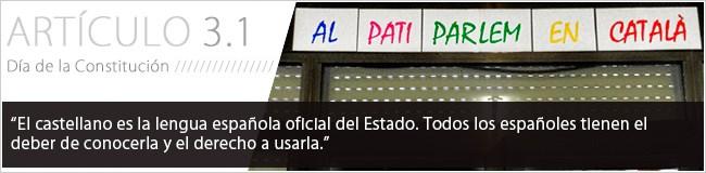 El castellano es la lengua española oficial del Estado. Todos los españoles tienen el deber de conocerla y el derecho a usarla