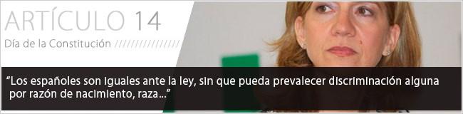 Los españoles son iguales ante la ley, sin que pueda prevalecer discriminación alguna por razón de nacimiento, raza...