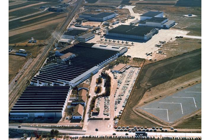 Fábrica de Airbus en Getafe (Madrid)
