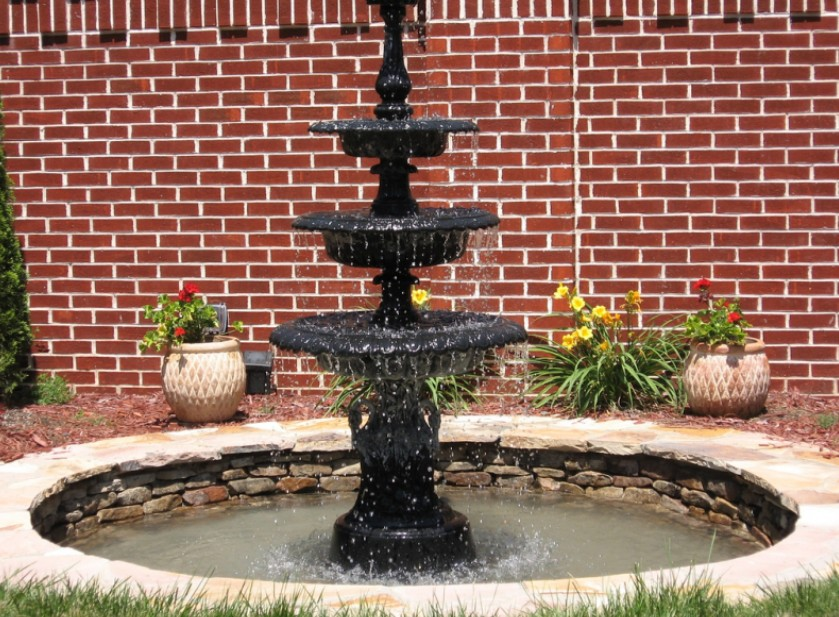 Llena Tu Casa De Fuentes Y Disfruta De Un Ambiente Relajado Chic - Fuentes-ornamentales-para-jardin