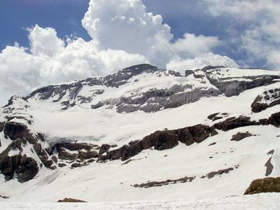 Glaciar del Monte Perdido (Huesca)