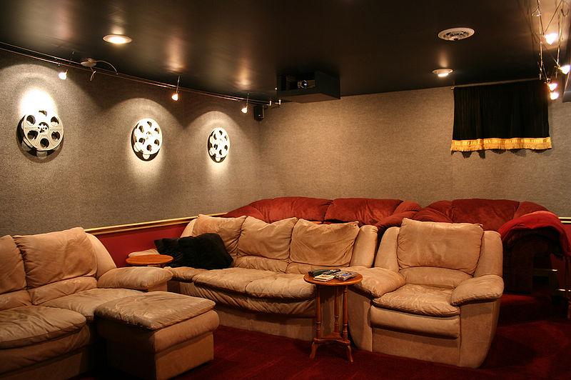 Crea tu propia habitación de cine - Chic