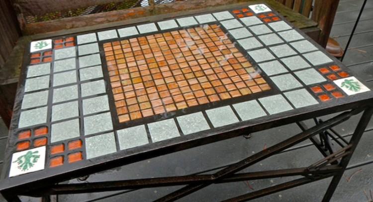 C mo hacer una mesa de mosaico chic - Como hacer una mesa ...