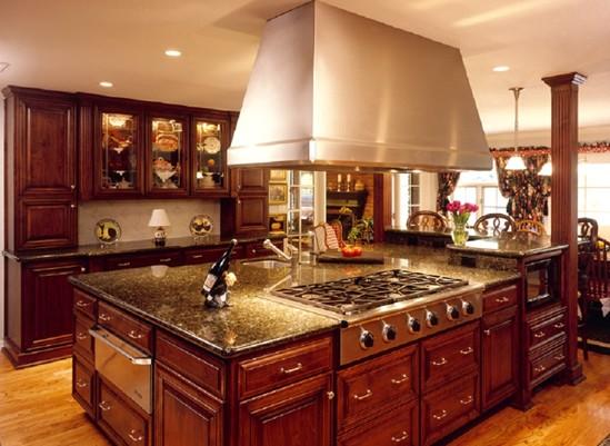 C mo poner una isla de cocina chic - Precio medio de una cocina ...