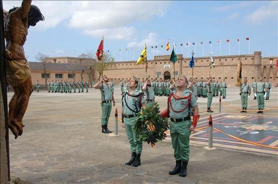 La II Bandera de la Legión se disuelve tras 87 años de servicio a ...