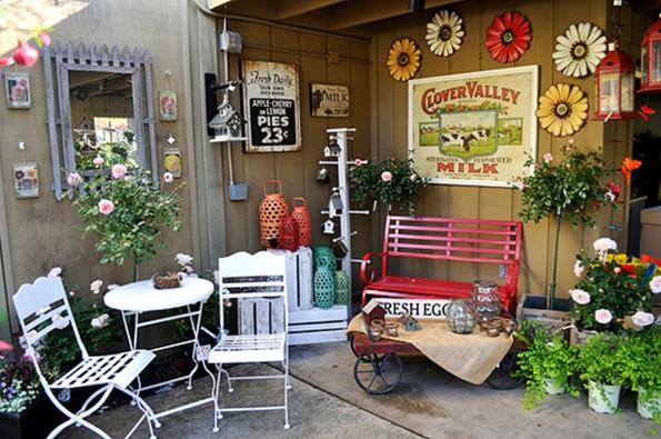 Muebles para la terraza y el jard n chic - Muebles de terraza ...
