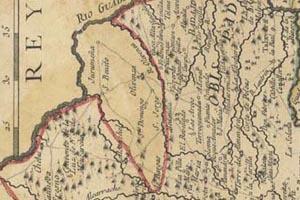 Mapa de Olivenza de 1773