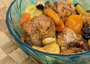 Delicias de Marruecos: Tajín de Pollo, Frutos Secos y Té