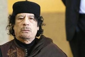 Muamar el Gadafi.