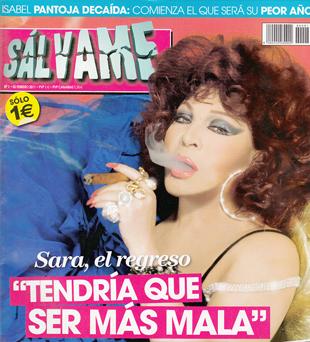 El primer número de la revista Sálvame