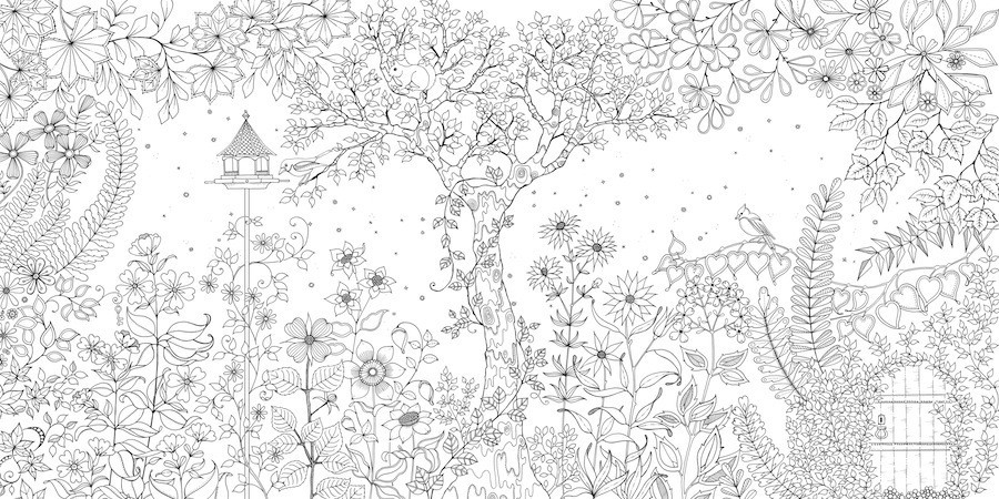 Johanna Basford, la ilustradora que arrasa con libros para colorear ...