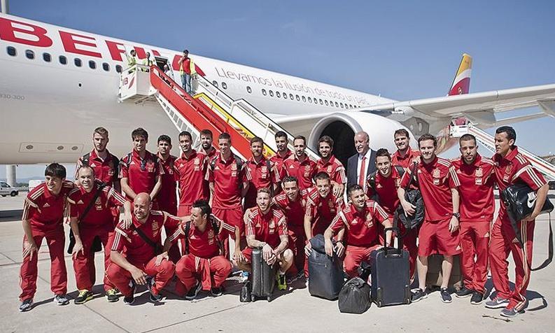 Las primas que recibirán los futbolistas españoles si ganan @elmundial