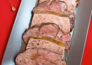 Receta especial para los amantes de la carne: Solomillo con Mousse de Setas