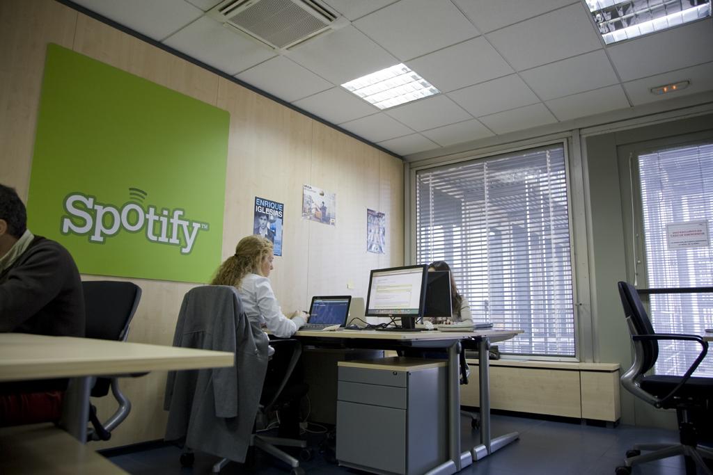Oficinas de Spotify en Madrid
