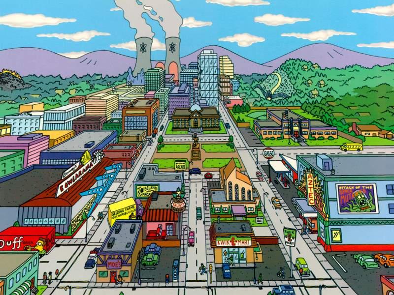 Resultado de imagen para dónde es springfield