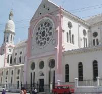La catedral de Puerto Príncipe.