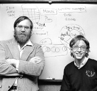 Paul Allen y Bill Gates.