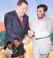 Hugo Chávez y Mahmud Ahmadineyad.