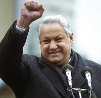 Boris Yeltsin.