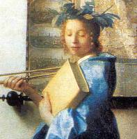 Clío, según Vermeer.
