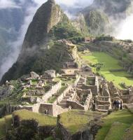 El Machu Picchu.