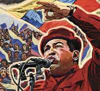 Hugo Chávez.