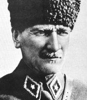 Mustafá Kemal Ataturk.