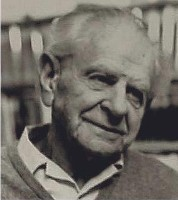 Karl Popper.